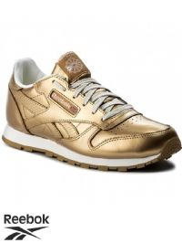 Junior Reebok Classic Leather Metallic Trainers (BS8944) (Option 4) x5: £17.95